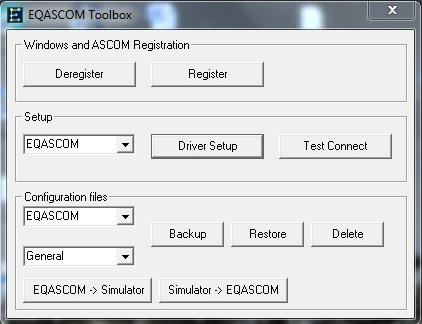 EQASCOM Toolbox